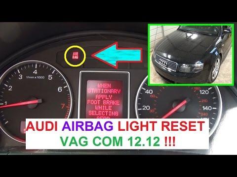 Audi A3 A4 A5 A6 A8 AIRBAG LIGHT RESET With VAG COM. AUDI AIRBAG LIGHT  VAGCOM   YouTube   MusicBaby