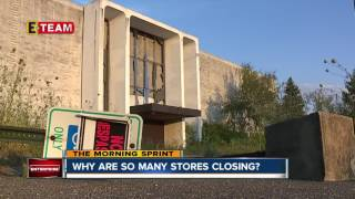Why are so many stores closing?