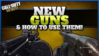 How to Use the New Guns in CoD WW2! (Proto-X1 SMG & VMG 1927 LMG)
