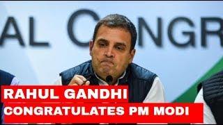 Rahul Gandhi addresses a Press Conference; Congratulates PM Modi on Victory