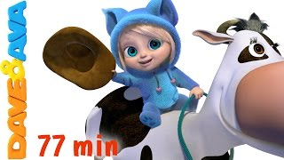 🎻 Nursery Rhymes Collection and Many More Songs for Kids, Children and Toddlers from Dave and Ava 🎻