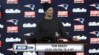 Tom Brady Week 9 Patriots vs. Packers Postgame Press Conference