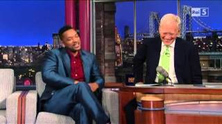 Will Smith al David Letterman 20-05-2013 (sub ita) part 2