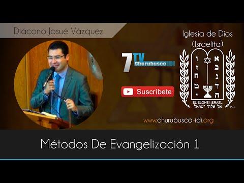Diácono Josué Vázquez - Métodos De Evangelización 1 (15-Nov-2014)