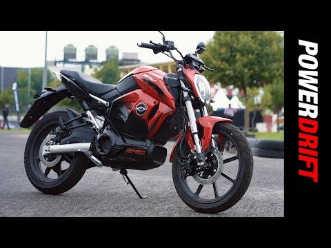 Revolt RV 400 : India's first electric motorcycle ridden