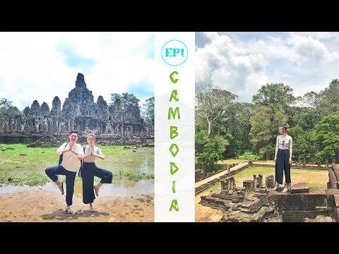 [EP1] 4000蚊玩盡柬埔寨 cambodia 5D4N vlog|kayan.c