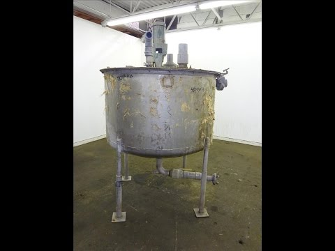Used- Tri-Canada Mix Tank, 300 Gallon, 304 Stainless Steel - stock # 48243033