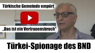Türkei-Spionage des BND - Interview mit Safter Çınar, Vorsitzender der TGD