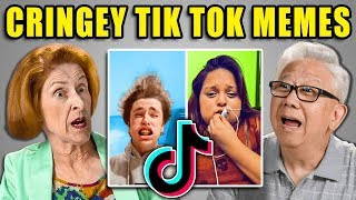 Elders React to Ironic Tik Tok Trolls Memes (Cringe Compilation)