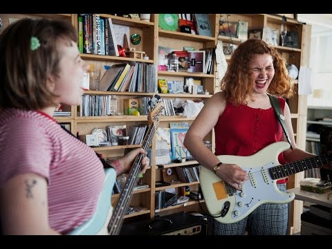 Girlpool: NPR Music Tiny Desk Concert