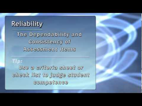 Technical Principles of Assessment - Certificate IV in Training and Assessment
