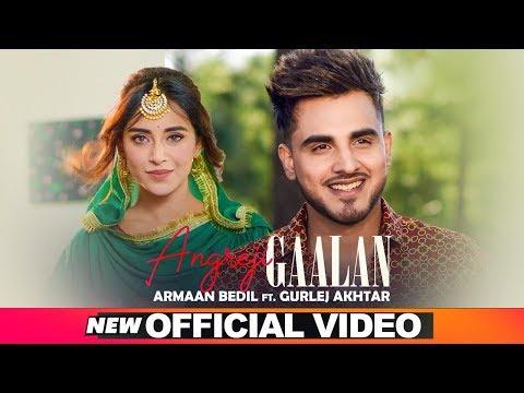 ARMAAN BEDIL - ANGREJI GAALAN (Official Video) Ft Surinder Shinda - Gurlej Akhtar