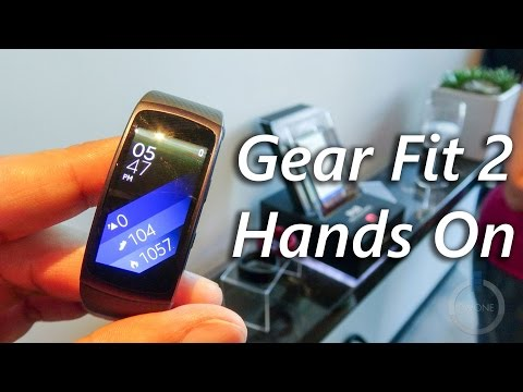 Samsung Gear Fit 2 & Gear IconX Hands On