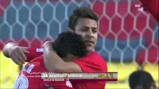 هدف لخويا الاول يوسف المساكني - معيذر vs لخويا - دوري نجوم قطر