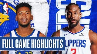 WARRIORS at CLIPPERS | FULL GAME HIGHLIGHTS | January 10, 2020