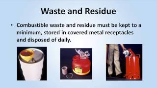 Flammable and Combustible Liquids Training