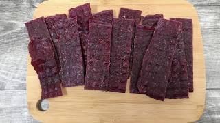 Easy Ground Beef Jerky Recipe -  Better Method For Making Ground Jerky!