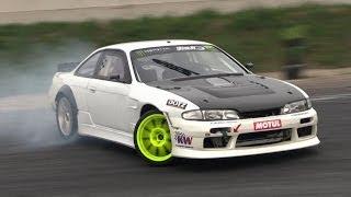 630hp LS3 Powered Nissan Silvia S14 Insane V8 Sound