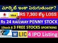 Stock Market Analysis | IRFC STOCK, tatva chintan share, VODAFONE IDEA STOCK, POLYPLEX STOCK