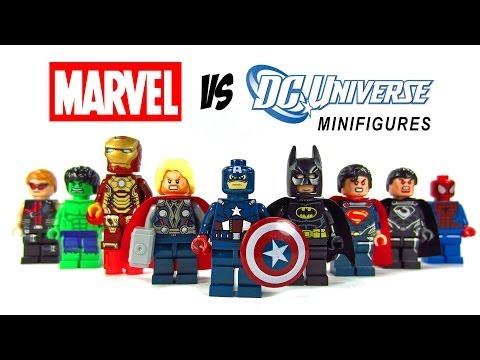 LEGO Marvel Vs DC Superheroes KnockOff