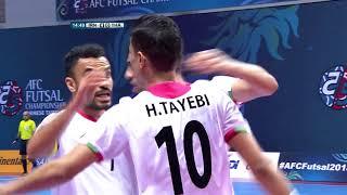 IR Iran 9-1 Thailand (AFC Futsal Championship 2018: Quarter-Finals)
