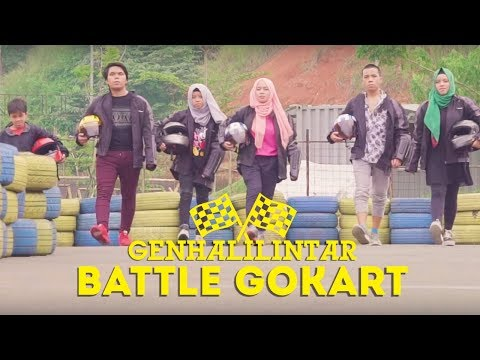 Gen Halilintar Balapan Go Kart Part 1| #GenHalilintarWar