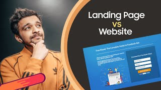 What is Landing Page? Landing Page vs Website in Hindi