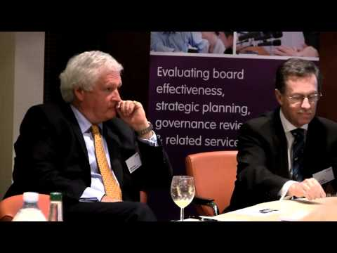 Question & Answer Session at Board Evaluation's Launch