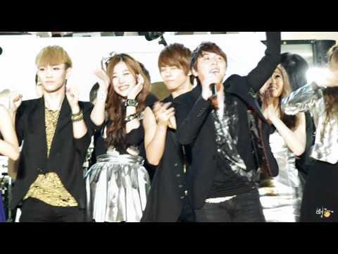 [fancam] 110528 Jonghyun, Key &  Sulli - ending @ DC