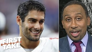 The jury is still out on Jimmy Garoppolo – Stephen A. | First Take
