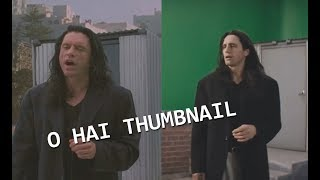 The Room / The Disaster Artist - Rooftop Scene - Side by side