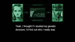 Best Part in Metal Gear Solid Series -- Snake about Big Boss -- Torture Room Dialogs