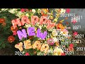 Best Wishes for Happy New Year 2021   Whatsaap Status HD Digital Video   Facebook flower greatings