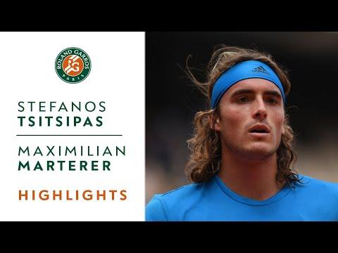 Stefanos Tsitsipas vs Maximilian Marterer - Round 1 Highlights | Roland-Garros 2019