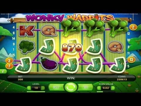 Wonky Wabbits™ free slots machine by NetEnt preview at Slotozilla.com