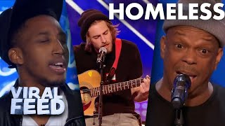 HOMELESS Contestant's Lives changed With one audition | VIRAL FEED