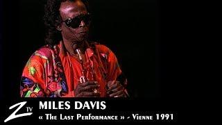 "Miles Davis - Human Nature - ""The last performance""- Vienne 1991 LIVE HD"