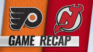 Devils youngsters lead NJ to 3-2 win vs. Flyers