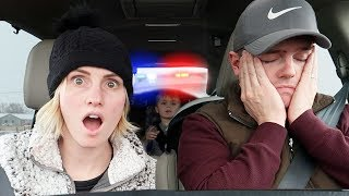 STOPPED By The POLICE! WHY? First Time Ever | Ellie And Jared