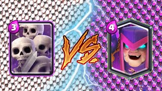 Skeleton Army Vs Mother Witch - Clash Royale Challenge #244