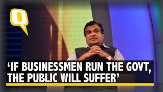'Never Make the Government a Business Partner': Nitin Gadkari