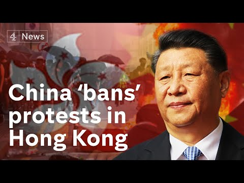 China condemned after passing law to curtail Hong Kong protests