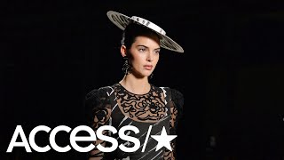 Kendall Jenner Returns To The Runway In Milan After Skipping New York Fashion Week | Access