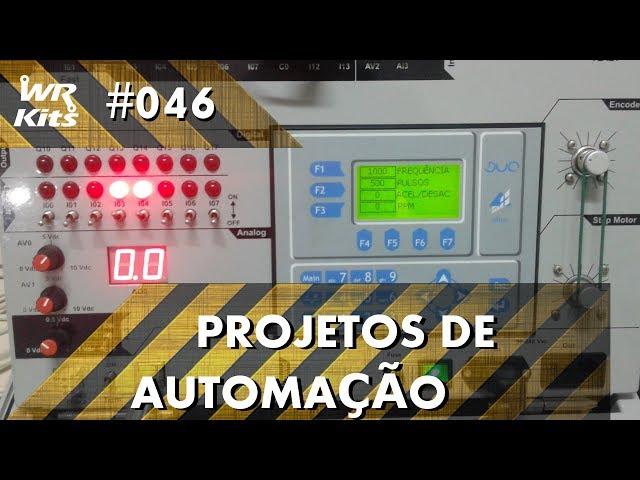 PROTEÇÃO CONTRA TRAVAMENTO DE MOTOR COM CLP ALTUS DUO | Projetos de Automação #046