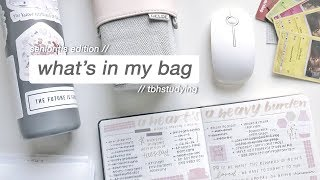 what's in my bag (high school senioritis edition)