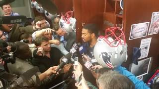 Jacoby Brissett on his first career TD: 'I was just running until I got stopped'