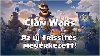 Megérkezett az új frissítés! ⬆️ Clan Wars a Clash Royaleban!