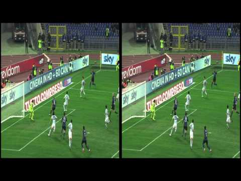 15 Italian Football Serie A Lazio vs Inter in 3D