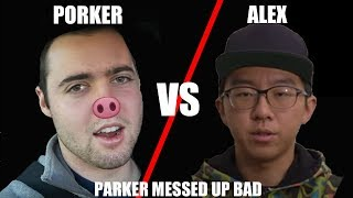 Vehicle Virgins Parker AT WAR with Alex Choi WHY DOES HE KEEP DOING THIS!