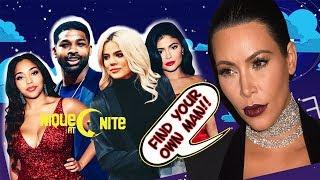Kim Kardashian Tells Jordyn to find her own man. plus Khloe vents about it on IG